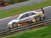Carro de corridas de Audi DTM Fotografia de Stock