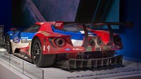 Carro de corridas de 2016 Ford GT em SEMA Imagem de Stock Royalty Free