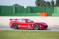 CARRO DE CORRIDAS de Ginetta G50 GT4 Imagens de Stock