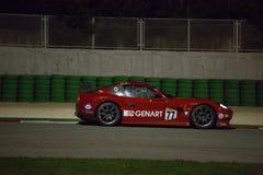CARRO DE CORRIDAS de Ginetta G50 GT4 Foto de Stock Royalty Free