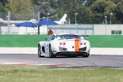 CARRO DE CORRIDAS de Ginetta G50 GT4 Fotos de Stock