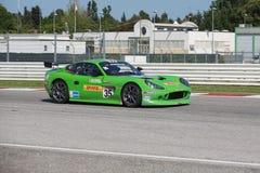 CARRO DE CORRIDAS de Ginetta G50 GT4 Fotos de Stock Royalty Free