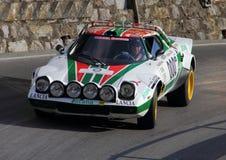 Carro de corridas de Lancia Stratos Imagens de Stock
