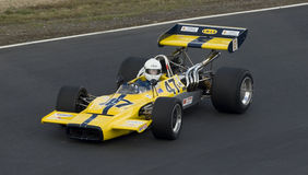 Carro de corridas de Lola da fórmula 5000 Fotografia de Stock Royalty Free