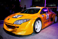 Carro de corridas de Renault Megane Trophy fotografia de stock