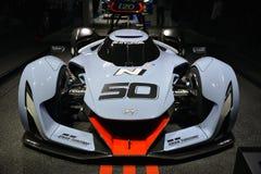 Carro de corridas 2025 do conceito de Gran Turismo da visão de Hyundai N Imagens de Stock Royalty Free