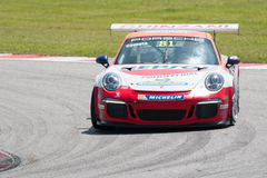 CARRO DE CORRIDAS do copo GT3 de Porsche 911 Foto de Stock Royalty Free