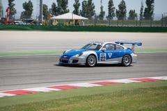 CARRO DE CORRIDAS DO COPO GTC DE PORSCHE 997 Fotografia de Stock Royalty Free