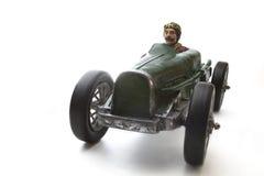Carro de corridas do vintage Imagem de Stock Royalty Free