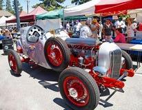 Carro de corridas do vintage fotografia de stock