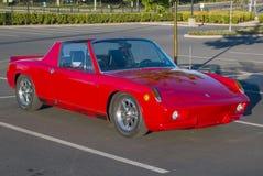 Carro de corridas feito sob encomenda de Porsche 914 imagens de stock royalty free