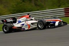 Carro de corridas francês do gp a1 Imagem de Stock Royalty Free