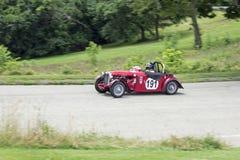 Carro de corridas grande 191 de Prix do vintage imagens de stock