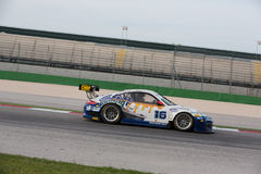 Carro de corridas GT3 de PORSCHE 997 Imagem de Stock Royalty Free