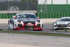 Carro de corridas GT3 de PORSCHE 997 Fotos de Stock
