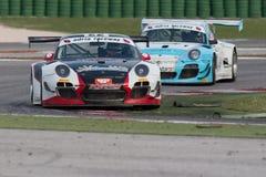 Carro de corridas GT3 de PORSCHE 997 Imagens de Stock