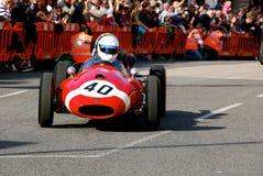 Carro de corridas histórico do tanoeiro Imagem de Stock Royalty Free