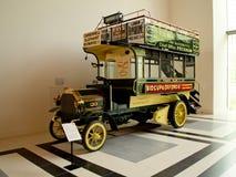 Carro de Daimler 6-HP en el museo de Louwman Foto de archivo