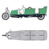 Carro de duas rodas Imagem de Stock