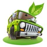 Carro de Eco Imagem de Stock