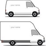 Carro de entrega Imagens de Stock Royalty Free