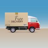 Carro de entrega Foto de Stock Royalty Free