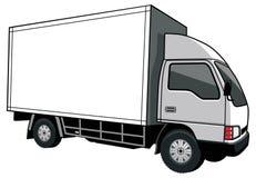 Carro de entrega com caixa vazia Fotos de Stock