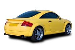 Carro de esportes amarelo Fotografia de Stock
