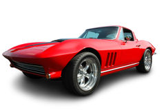 Carro de esportes americano clássico Imagem de Stock