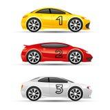 Carro de esportes colorido ilustração do vetor