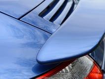 Carro de esportes com superfície de sustentação foto de stock royalty free