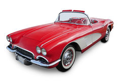 Carro de esportes convertível clássico foto de stock royalty free