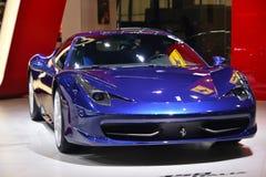 Carro de esportes da aranha de Ferrari 458 Fotografia de Stock Royalty Free