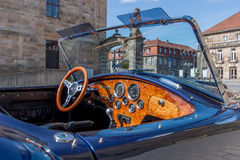 Carro de esportes da cobra Fotografia de Stock Royalty Free