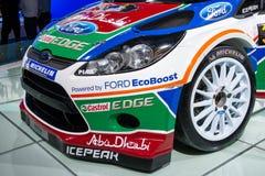 Carro de esportes da reunião de Ford Fiesta RS WRC foto de stock