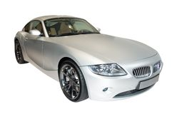 Carro de esportes de BMW Z4 fotografia de stock