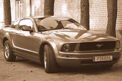 Carro de esportes do mustang Fotografia de Stock
