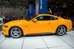 Carro de esportes do MUSTANG de Ford Imagens de Stock Royalty Free