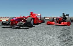 Carro de esportes F1 ilustração stock