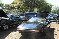 Carro de esportes italiano velho de Lil Imagem de Stock Royalty Free
