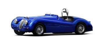 Carro de esportes - jaguar XK140 Fotografia de Stock