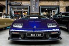 Carro de esportes Lamborghini Diablo GT, 2001 Fotos de Stock Royalty Free