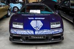 Carro de esportes Lamborghini Diablo GT, 2001 Foto de Stock Royalty Free