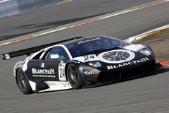 Carro de esportes, Lamborghini Murcielago 670 R-SV Fotografia de Stock