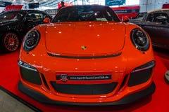 Carro de esportes Porsche 991/911 de GT3 RS, 2017 Foto de Stock Royalty Free