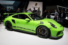 Carro de esportes de Porsche 911 GT3 RS Imagens de Stock