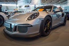 Carro de esportes Porsche 911 GT3 RS 991, 2016 Foto de Stock Royalty Free