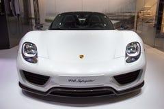 Carro de esportes de Porsche 918 Spyder Imagem de Stock Royalty Free
