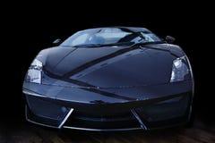 Carro de esportes preto Imagens de Stock