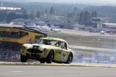 Carro de esportes, raça 24h clássica de Le Mans Fotos de Stock
